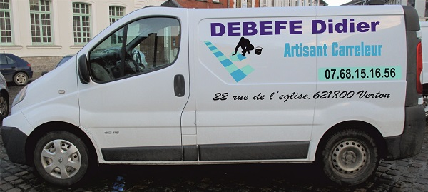 publicité et décoration sur vehicule utilitaires
